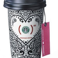 Starbucks (Red) Limited Edition Jonathan Adler Ceramic Tumbler