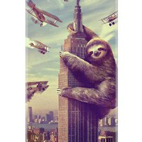 Slothzilla Samsung Galaxy III Case on the redditgifts Marketplace