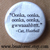 Quote of the Cat Button
