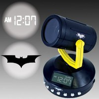 Amazon.com: Amazing Batman Signal Projection Alarm Clock - Projects The Bat Signal: Home &amp; Kitchen