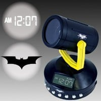 Amazon.com: Amazing Batman Signal Projection Alarm Clock - Projects The Bat Signal: Home & Kitchen