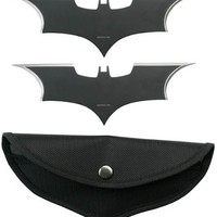 Batman 2 Knife Set with Pouch - Batarang