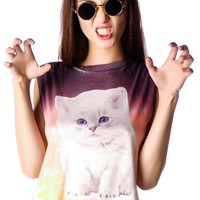 Understar Ombre Kitten Tank | Dolls Kill