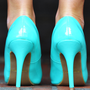 Timeless Touch Heels: Neon Mint | Hope's