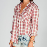 ROXY Foggy Shore Womens Hooded Shirt