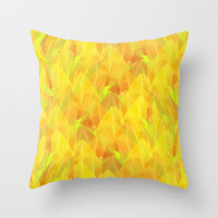 Tulip Fields #106 Throw Pillow by Gréta Thórsdóttir