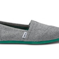 Grey Herringbone Women&#x27;s Classics