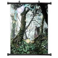 "Mushishi Anime Fabric Wall Scroll Poster (16"" X 21"") Inches"