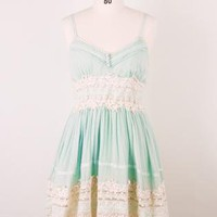 Multi Day Dress - Got a Date Mint Lace | UsTrendy