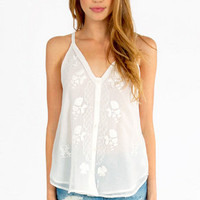 White Shore Tank Top $37