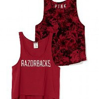 University of Arkansas High-Low Tank - PINK - Victoria's Secret