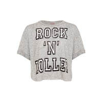 Rock N Rolller Crop Top