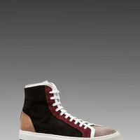 Woman by Common Projects Tournament Multi High Sneaker in Black from REVOLVEclothing.com