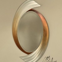 Nova Lighting Swerve Wall Mirror  - Opulentitems.com
