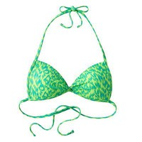 SO Animal Push-Up Halter Bikini Top