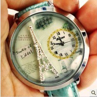 Fashion Tower Watch,pure and fresh
