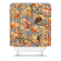 DENY Designs Home Accessories | Garima Dhawan Dogwood Quilt Shower Curtain