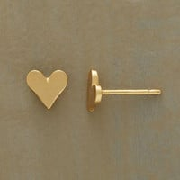 GOLD DIPPED LITTLE HEARTS EARRINGS         -                  Stud         -                  Earrings         -                  Jewelry                       | Robert Redford's Sundance Catalog