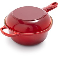 Le Creuset Cherry Two-in-One Pan | Sur La Table