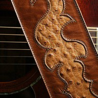 Traveler Guitar Strap | EthosCustomBrands - Music/Instruments on ArtFire