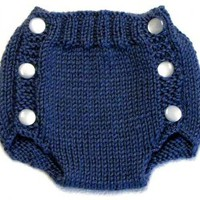 Diaper Cover Knitting Pattern PDF Small by ezcareknits on Zibbet