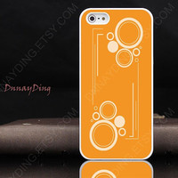 Iphone 5 case&iPhone 4 case iPhone 4s case-Cute Little feet iPhone case,Orange-red iPhone case,plastic Iphone case