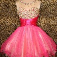 Cute mini prom dress/hmomcoming dress from Dresses 2013