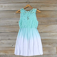 Mint & Ombre Dress, Sweet Women's Party Dresses