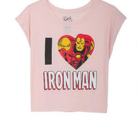 I Heart Iron Man Tee