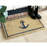 Anchor Coir Mat  | Ballard Designs