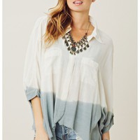 Somedays Lovin' Wind Shifter Dip Dye Shirt
