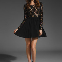 STYLE STALKER Young Love Skater Dress in Black at Revolve Clothing - Free Shipping!
