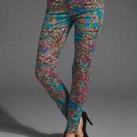7 FOR ALL MANKIND Skinny in Garden Party Print at Revolve Clothing - Free Shipping!