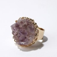 Raw Stone Ring
