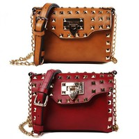 Hot Rivet Satchel