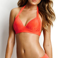 Seafolly 2013: Goddess Separates Swimwear Halter Top 30279-065, Skirted Bottom 40140-065