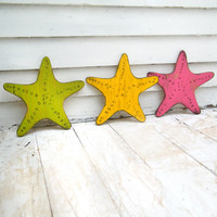 Starfish Beach Decor Nautical Wall Decor Destin Beach House Decor