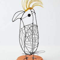 Anthropologie - Wire Cockatoo