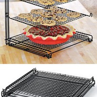 3-Tier Mesh Nonstick Cooling Rack, Stacked Cookie Rack | Solutions