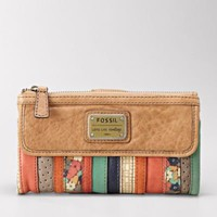 FOSSIL Wallets Checkbook Wallets:Women Emory Clutch SL3157