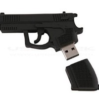 High Quality 8 GB Gun Shape USB Fl...