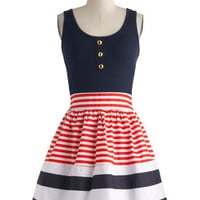 Schooner Said Than Done Dress | Mod Retro Vintage Dresses | ModCloth.com