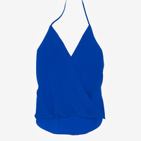 Chelsea Flower EXCLUSIVE Wrap Halter-Tops-Sale-Categories- IntermixOnline.com