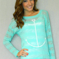 Nautical Knit Top | Girly Girl Boutique