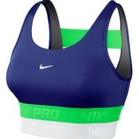 Nike Women&#x27;s Pro Stacked Elastic Bra - Dick&#x27;s Sporting Goods