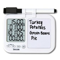 Quad Kitchen Timer with Whiteboard