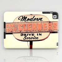 Modern Cleaners iPad Case by Erin Johnson