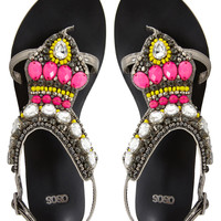 ASOS FELICITY Embellished Flat Sandals