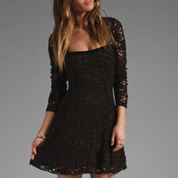 Free People Flirt For You Dress in Black Combo from REVOLVEclothing.com