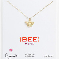 Dogeared 'Create - Bee Mine' Pendant Necklace | Nordstrom